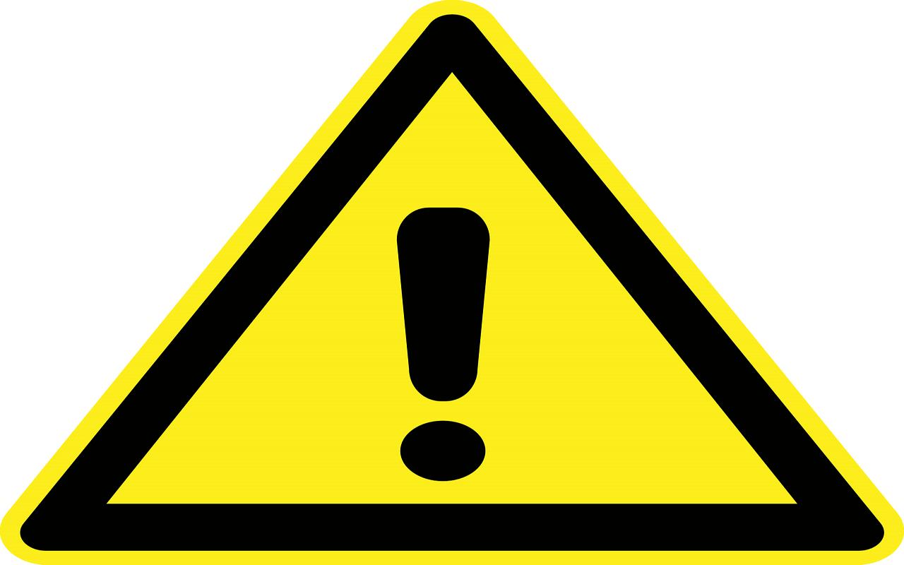 スマホのローミング機能の警告アイコン